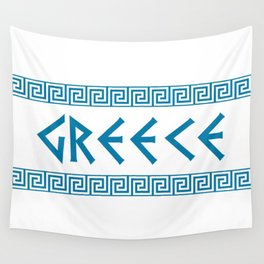 greece nation text Wall Tapestry