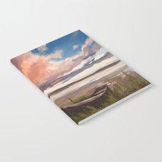 Sunrise over the lake Notebook