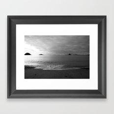 Morning Tide Framed Art Print