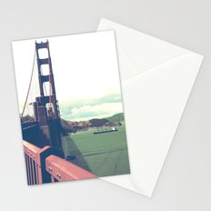 red gold 1 Stationery Cards