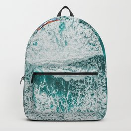 Girl Surfing Backpack