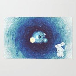 Down The Rabbit Hole Rug