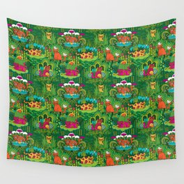 Lords of the Jungle Wall Tapestry