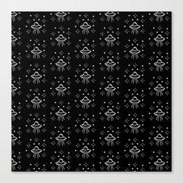 Spaceship  pattern Canvas Print