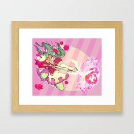 Rosy Framed Art Print