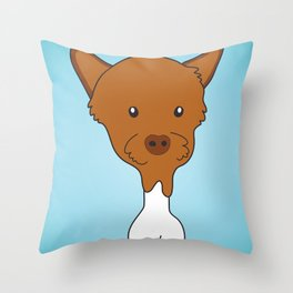 gramps the drumstick Throw Pillow