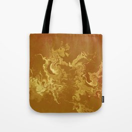 Dragon fire abstract Tote Bag