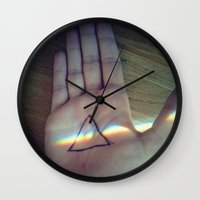 floyd Wall Clocks featuring Pink Floyd by Emma.B