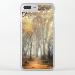 Into the Golden Clear iPhone Case