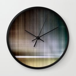 Abstract Lines 3 Wall Clock