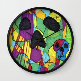 Skulls&Buddha 46 Wall Clock