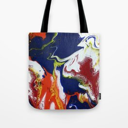 Fluid Bliss - Abstract, fluid painting Tote Bag
