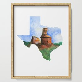 Palo Duro Texas Serving Tray