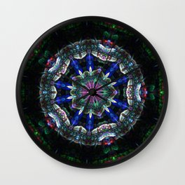 The Queen Counsel of Inter-dimensional Beings Wall Clock