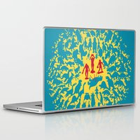 marx Laptop & iPad Skins featuring Hunted! by Ivan Guerrero