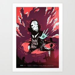 BURN BITCH BURN - A Lovecraft Tribute Art Print