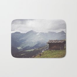 Alpine hut Bath Mat