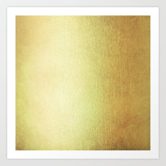 Simply 24K Gold Art Print