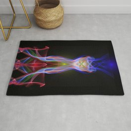 9185 The Joining of Two Energies, Becoming One Rug