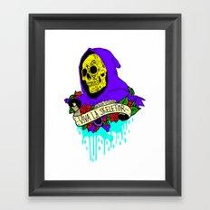 Viva La Skeletor Framed Art Print