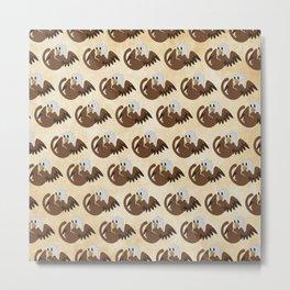 Griffin Pattern Metal Print