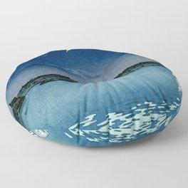 Tsuchiya Koitsu - Mount Fuji and Shoji Lake - Japanese Vintage Woodblock Ukiyo-E Floor Pillow