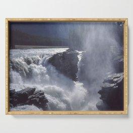 Athabasca Falls 1 Serving Tray