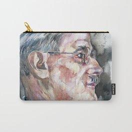 JAMES JOYCE - watercolor portrait Carry-All Pouch