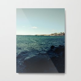 Winter Bay Metal Print