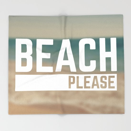 Beach Please Funny Quote by envyart