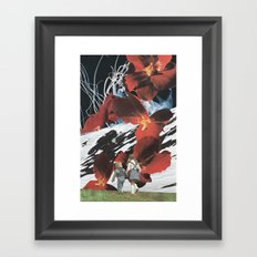 Such Great Hights Framed Art Print