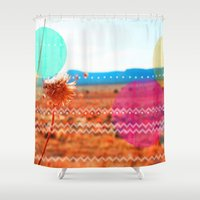 wind Shower Curtains featuring Wind by Kakel-photography