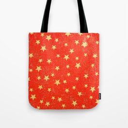 Gold Stars Tote Bag