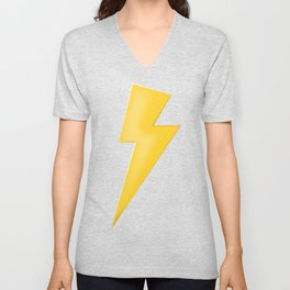 Lighting Bolt  Unisex V-Neck