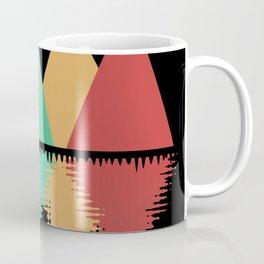 Moon Over Four Peaks Coffee Mug