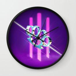 1080 Wall Clock