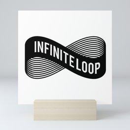 INFINITE LOOP Mini Art Print