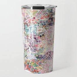 Baton Rouge map Travel Mug