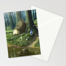 Totoro and Mei Stationery Cards