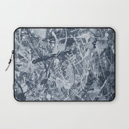 Abstract black painting Laptop Sleeve