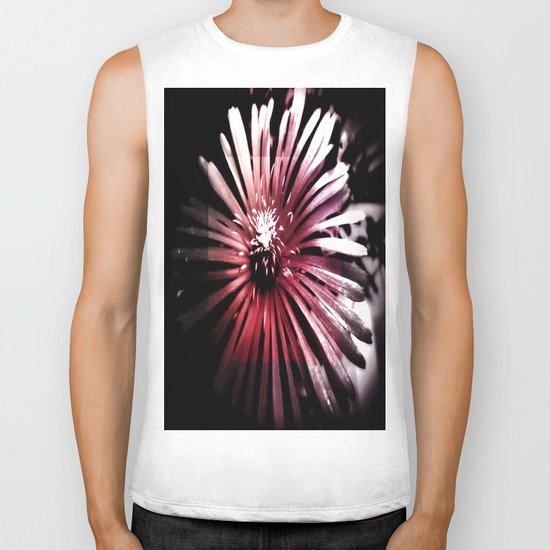 Night Flower Biker Tank
