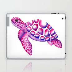 Watercolour Sea Turtle Laptop & iPad Skin