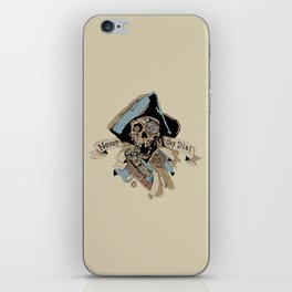 One Eyed Willy Never Say Die - The Goonies iPhone Skin