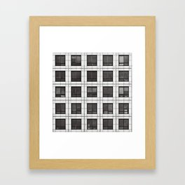 Canary Square Framed Art Print