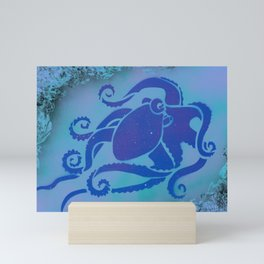 Purple Octopus Mini Art Print