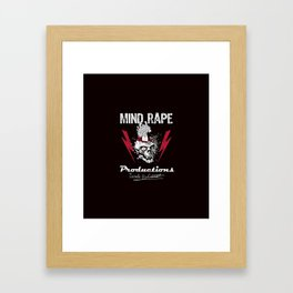 Mind-Rape Productions Framed Art Print