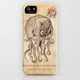 Miskatonic Surgery - Cthulhu (Megalodon cephalopoides) iPhone Case