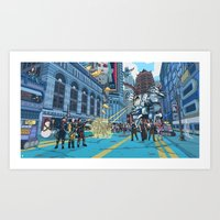 inside gaming Art Prints featuring PC Gaming Part 2 - President Tunt Edition by the10s
