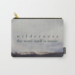 Edward Abbey x Wilderness Carry-All Pouch