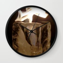 Fire from Ice - FredPereiraStudios.com_Page_14 Wall Clock
